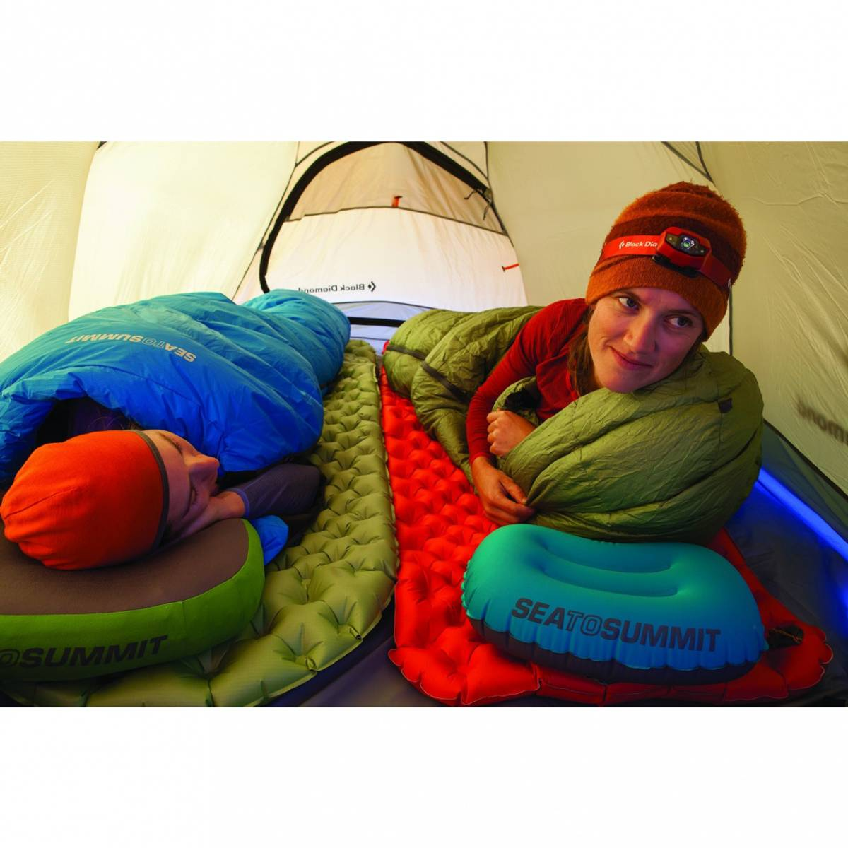 Sea To Summit Aircell Mat Comfort Plus Insulated Red