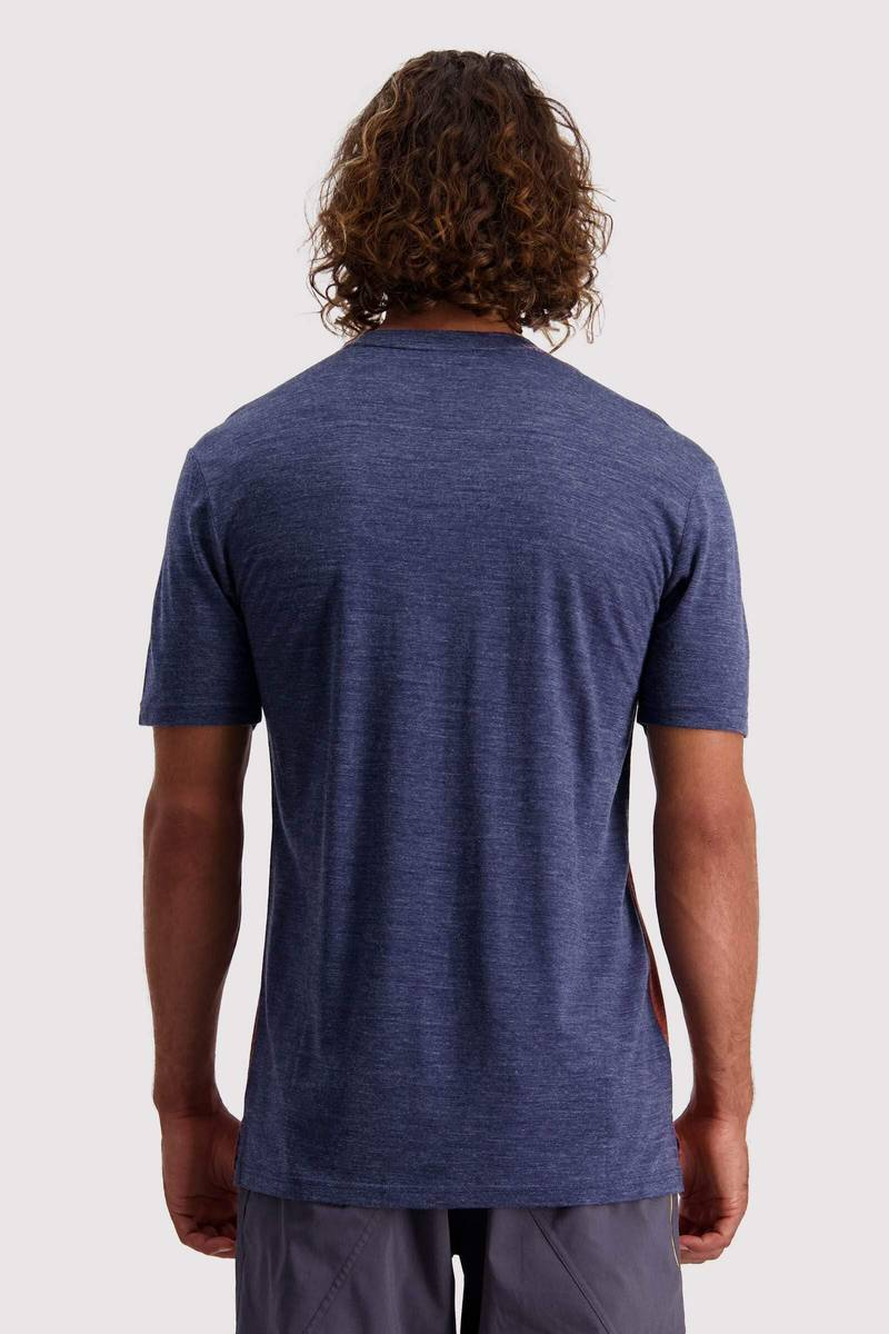 Mons Royale Vapour T Navy / Chocolate