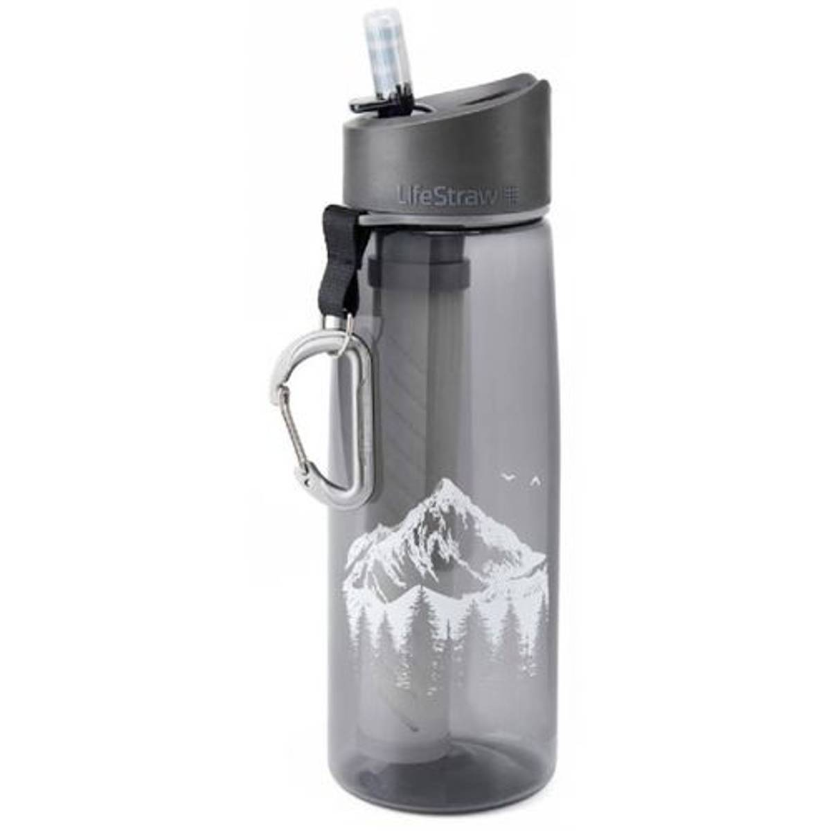 LifeStraw Go 650ml Vannfilter Grey Mountain